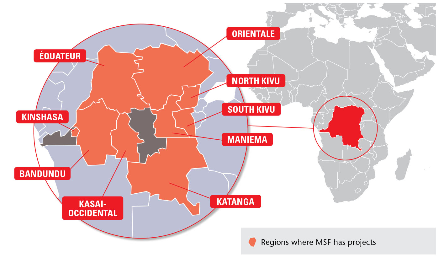 MSF Focus on Democratic Republic of Congo
