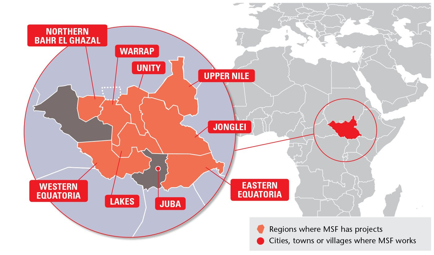 MSF Focus on South Sudan