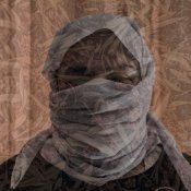 A Yazidi woman aged 60 poses in her house in Sinuni Emilienne Malfatto MSF