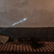 Amina Ismail Elias, 20, poses in her house on Mount Sinjar. © Emilienne Malfatto / MSF
