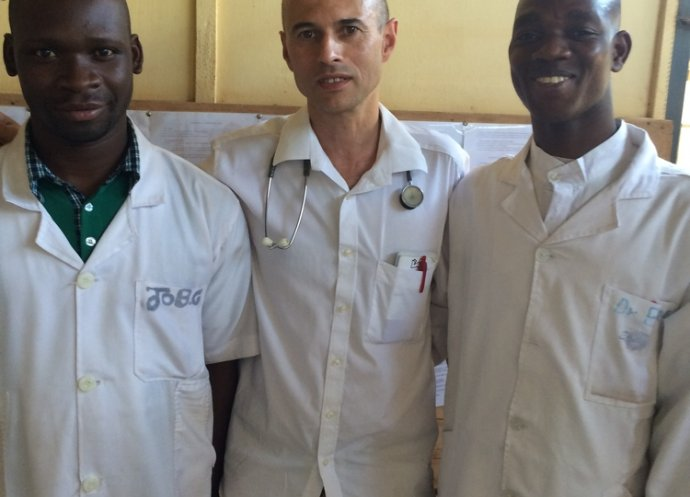 MSF Staff in Koutiala, Mali