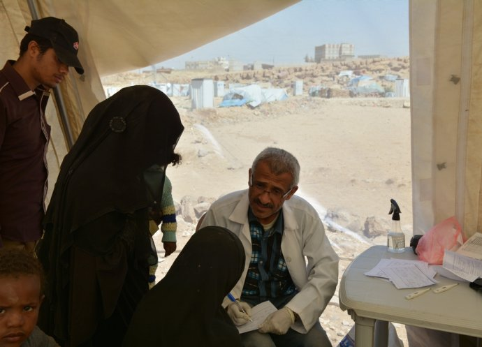 IDPs in Khamer, North of Yemen
