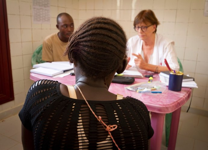MSF treats victims of sexual violence