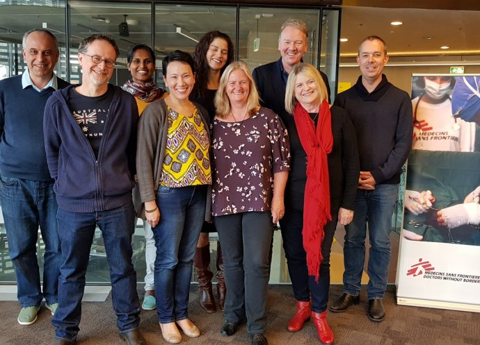 MSF Australia Board 2018