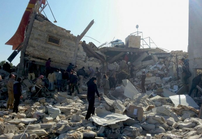 MSF-supported hospital in northern Syria destroyed in attack