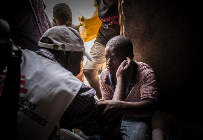 HIV testing in Katwe