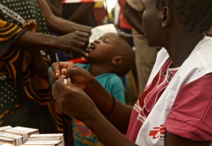 Oral Cholera Vaccination campaign in Juba