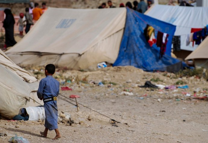 North-governorate of Yemen in the camps of Huth and Khamir.