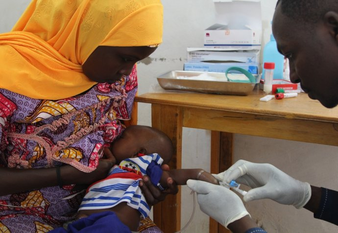 Clinical trial of a new vaccine against Rotavirus in Maradi / Niger