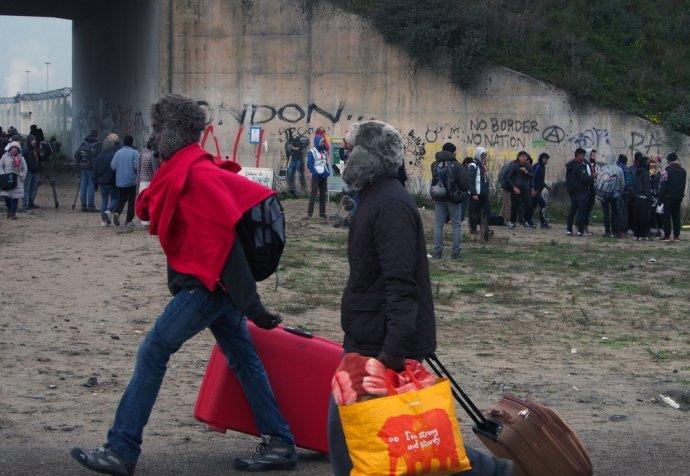 First day of Calais Dismantlement