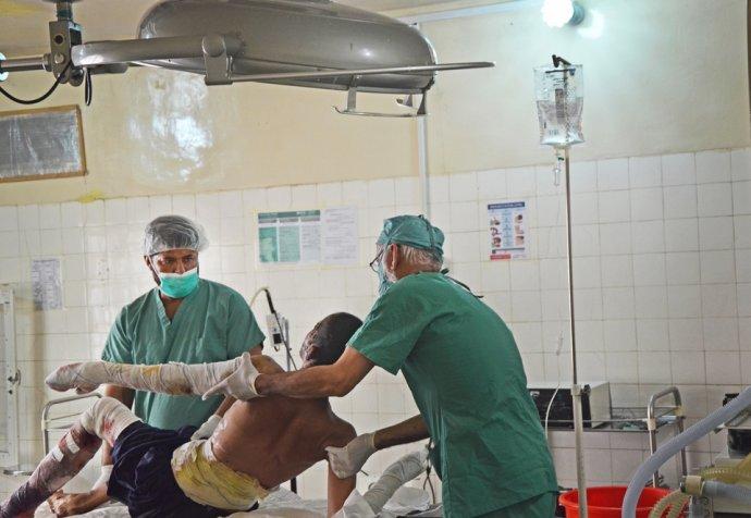 Surgey Boost hospital Lashkar Ghar Afghanistan