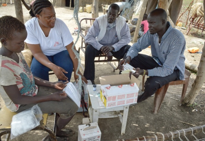 Home insulin programme - Abyei - South Soudan