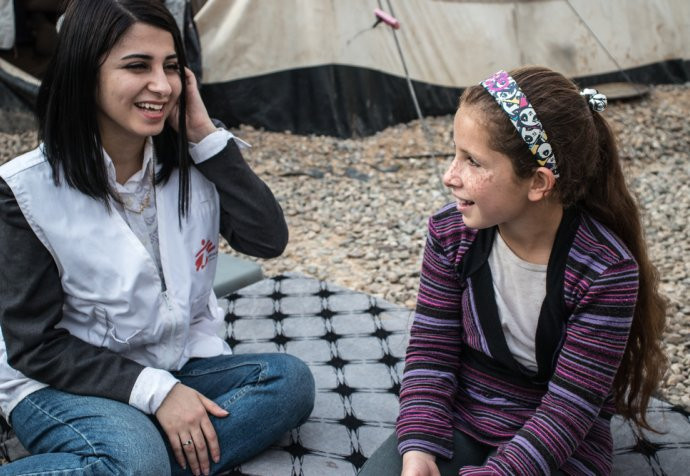 "Treating traumatised children from Mosul: ""I am like my old self. What I was before IS came.."""
