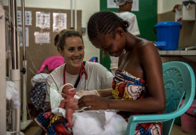 Castor Maternity Hospital in Bangui