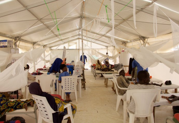 Cholera outbreak in Maiduguri