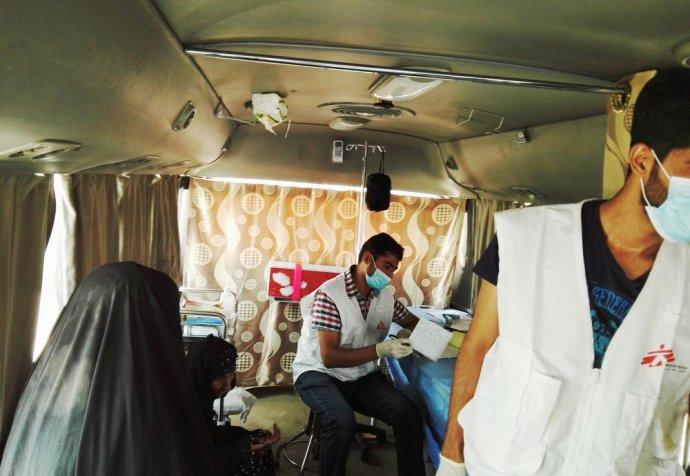 Mobile clinics in Amaryat Fallujah (AF) Iraq