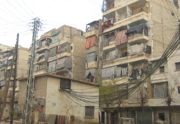 Street scenes in Aleppo