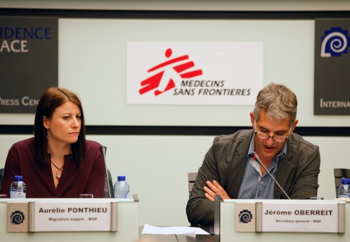 MSF Will no longer seek EU and Member State funding  - Press Conference