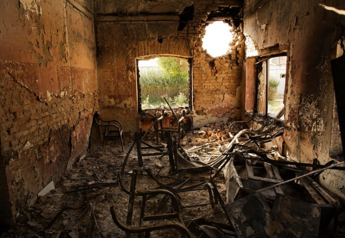 Kunduz Hospital Aftermath - 14 Oct 2015