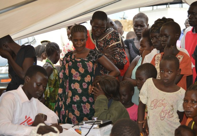 Mobile Clinics in Gudele, South Sudan
