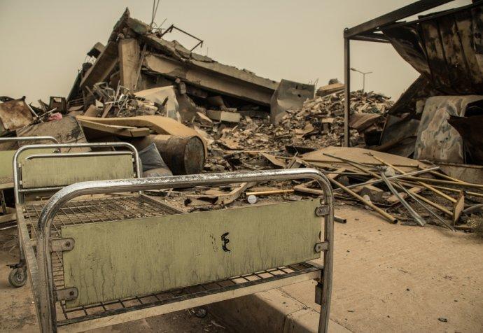 Al Khansaa hospital in East Mosul