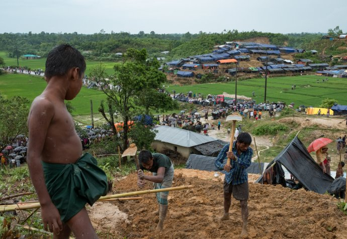 MSF Medical Action - Rohingya Crisis