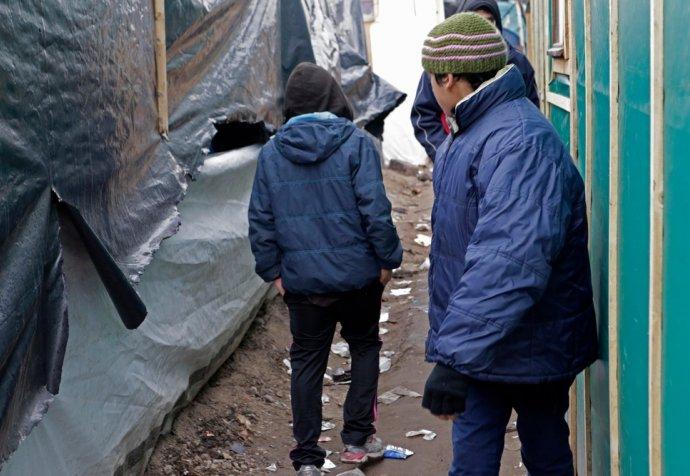A.A.Gill_visits_Jungle refugee camp-Calais