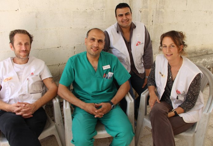 Admission of trauma patients following Palestinian March of Return