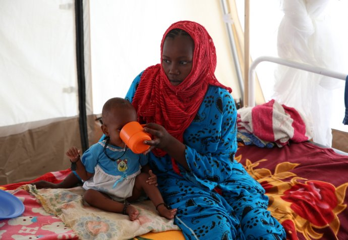 Emergency nutrition program in N'Djamena