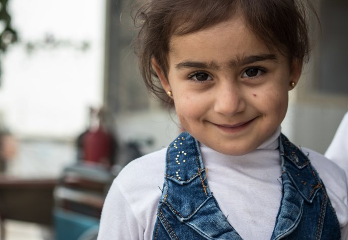 Isla, born at a MSF clinic in Iraq