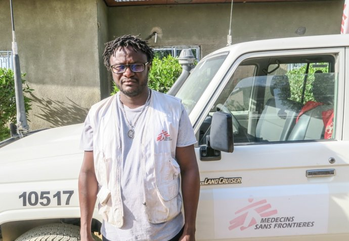 Alfred Davies, Field Coordinator, MSF