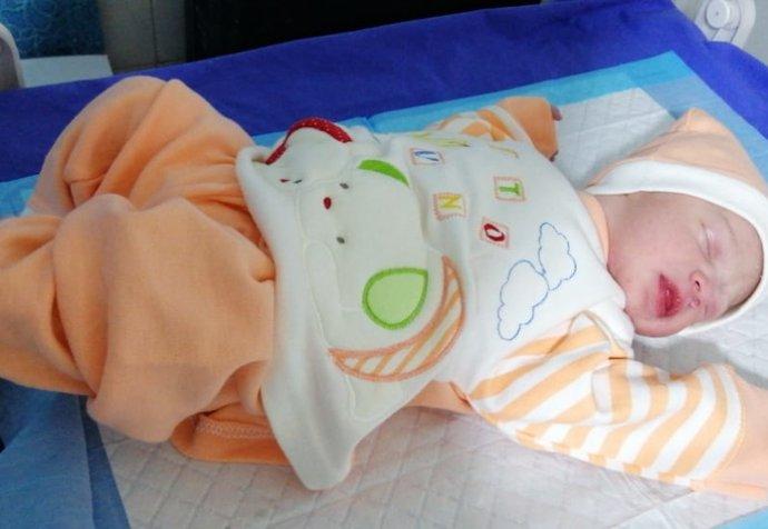 Baby boy, born Bekaa, Lebanon, 1/1/19