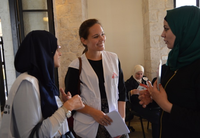 Spreading awareness about mental health in West Bank, Palestine