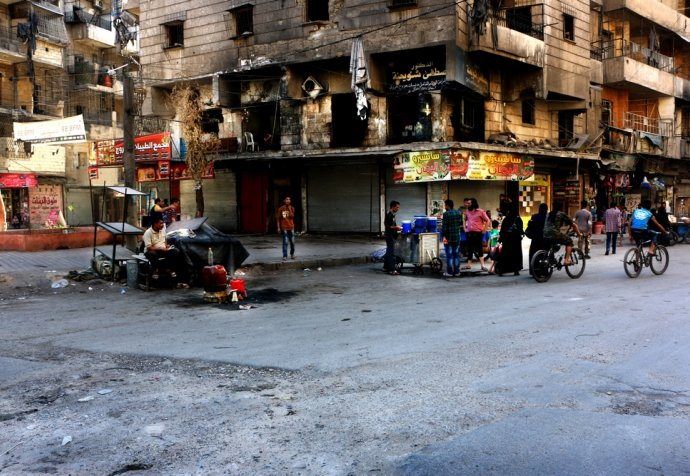 ALEPPO UNDER FIRE