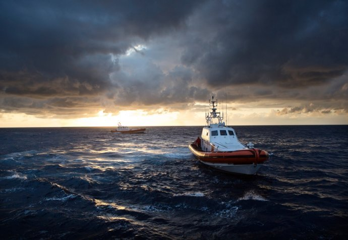 Bourbon Argos: Search and Rescue Operations, November 2015