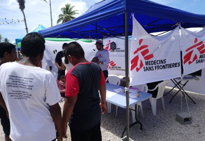 Outreach Activity in Nauru