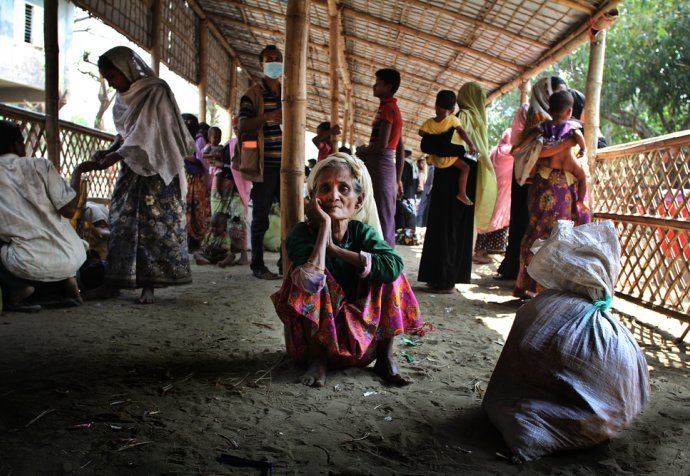 Rohingya New arrivals