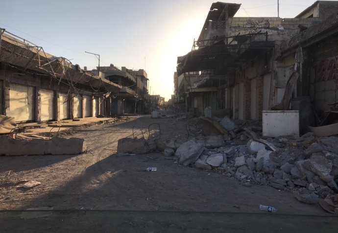 Iraq, West-Mosul destruction