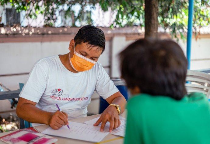 MSF treating Hepatitis C in Yangon, Myanmar